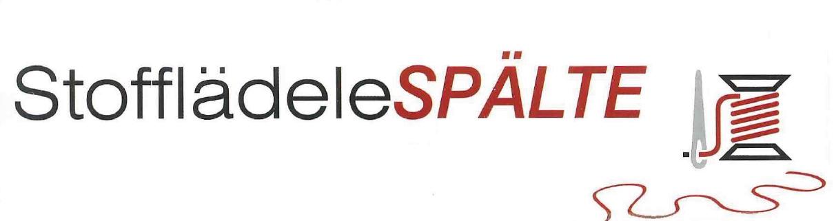 Logo - Stofflädele Spälte - Tengen